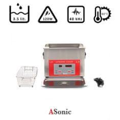 ASonic PRO 50 – 40kHz ultrazvočni čistilec