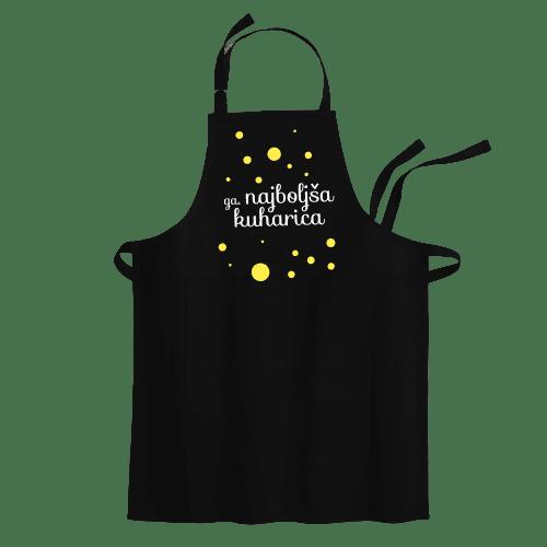 Cyber print shop Predpasnik s potiskom Ga. najboljša kuharica