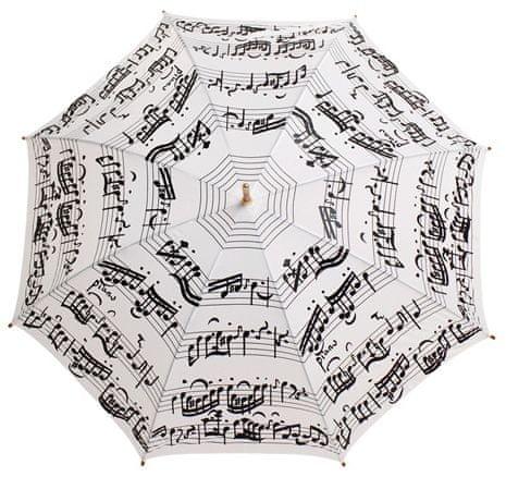Blooming Brollies Holovaty parasol Biały Nuty LRWP877 / MM