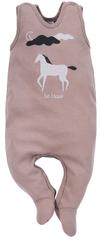 PINOKIO 1-02-2101-180A-BE Dreamer dječja pidžama, smeđa, 56