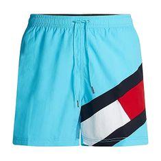 Tommy Hilfiger Moške plavalne kratke hlače UM0UM02048 -CVB (Velikost S)