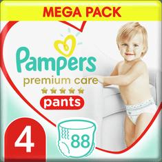 Pampers Premium Pants 4 (9-15 kg) Mega Box 88 ks