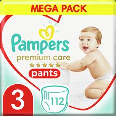 Pampers Premium Pants 3 (6-11 kg) Mega Box 112 db