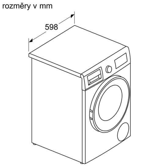 Bosch pračka se sušičkou WNA13400BY + 10 let záruka na motor