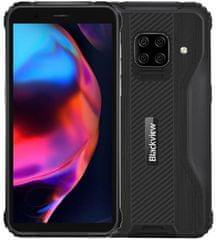 iGET Blackview BV5100 Pro mobilni telefon, 4GB/128GB, črn