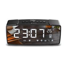 GreenBlue Digitalna budilka z funkcijo Bluetooth, FM in AUX GB200