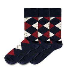 3 PACK - férfi zokni FSB126