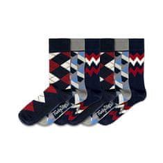 6 PACK - férfi zokni FSB146