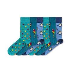 6 PACK - férfi zokni FSB152