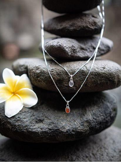 Hot Diamonds Strieborný náhrdelník pre narodené v decembri Birthstone DP765 striebro 925/1000