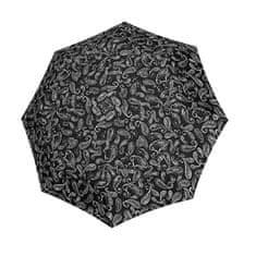Doppler Ženski zložljiv dežnik Black &white 7441465BW 05