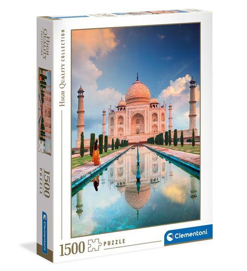 Clementoni HQC sestavljanka, Taj Mahal, 1500 kosov (31818)