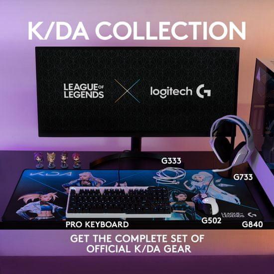 Logitech G502 Hero, K/DA, RGB, USB
