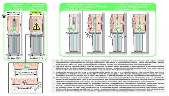 Meliconi 656115 Torre Style L60 + 10 let záruka