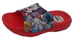 Disney Mickey Mouse D2010043S otroški natikači, 28, rdeči