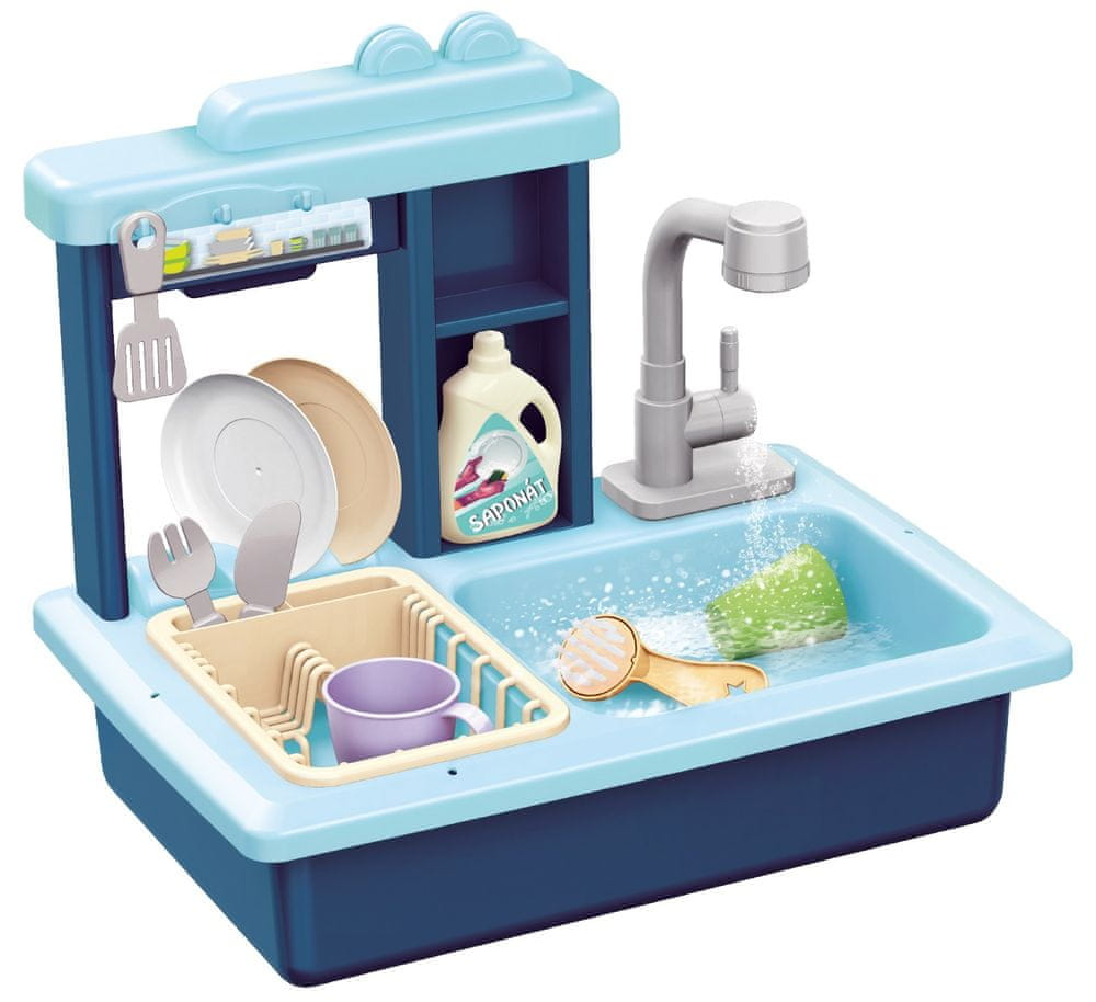 Teddies Dřez na mytí nádobí modrý