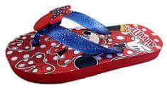 Disney dekliški japanke Minnie D3010116S, 30, rdeči
