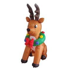 Timeless Tools Felfújható karácsonyi figurák-rénszarvas, 240 cm