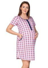 Regina Dámská mateřská košile 174 : Velikosti - L, Barvy - tyrkys světlá