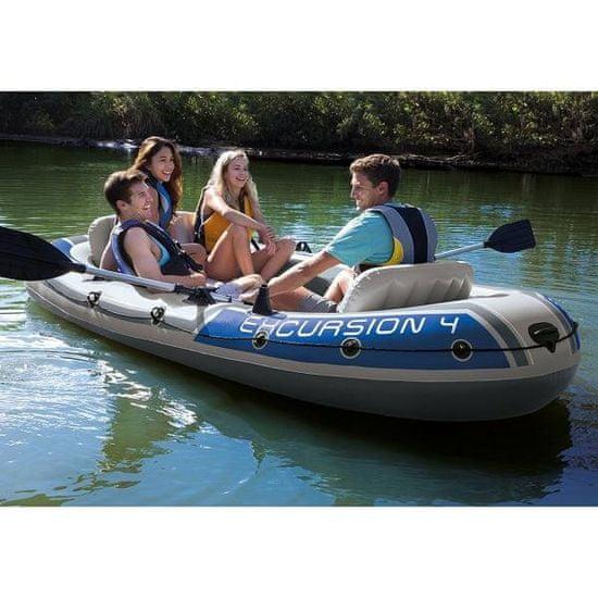 Intex člun 68324 Excursion 4 Set model 2021