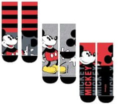 "SETINO Fantove visoke nogavice ""Mickey Mouse"" - 3 kos v paketu - 31–34"