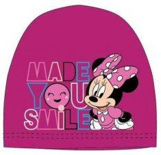 "SETINO Dekliška kapa bombažna ""Minnie Mouse"" - vijolična - 54 cm"