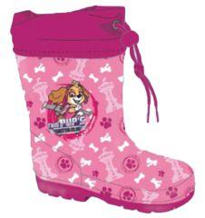 """SETINO Dekliški škornji """"Tačke na patrulji"""" - svetlo roza - 32"""