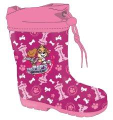 """SETINO Dekliški škornji """"Tačke na patrulji"""" - temno roza - 32"""