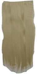 Vipbejba Sintetični nevidni/flip-on lasni podaljški, ravni, svetlo blond F18