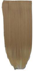 Vipbejba Sintetični nevidni/flip-on lasni podaljški, ravni, cappuccino Y5