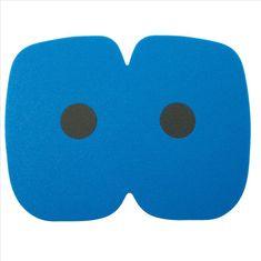 Yate Ülőszőnyeg kenu 345x265x12 mm, fekete-kék