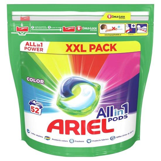 Ariel All-In-1 PODs Color mosókapszula, 52 db