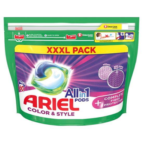Ariel All-In-1 PODs + Szálvédő technológia Mosókapszula, 60 mosás