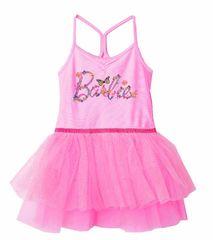 """Eplusm Otroška obleka """"Barbie"""" - roza - 128–134 / 8–9 let"""