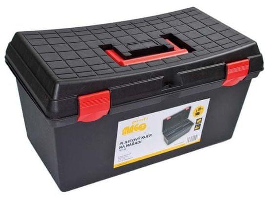 MAGG Plastový kufor na náradie 530 x 290 x 270 mm, nosnosť 120 kg - MAGG PP158