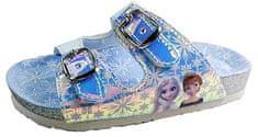 Disney dekliški natikači Frozen D4310164S, 24, srebrni