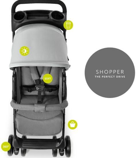 Hauck Shopper Trioset kolica