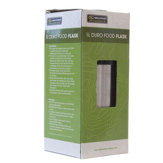 Highlander Termovka Duro Food Flask - 1L Silver