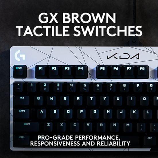 Logitech G Pro, GX Brown, K/DA, US (920-010077)