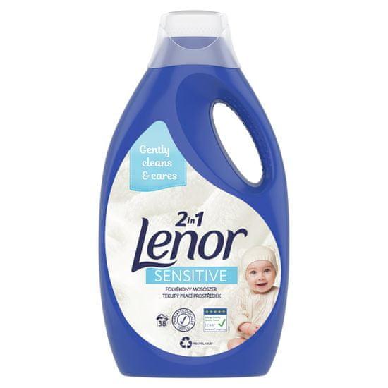 Lenor Sensitive folyékony mosószer 38 mosás, 2,09 l