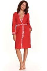TARO Ženska halja 2457 red, rdeča, S