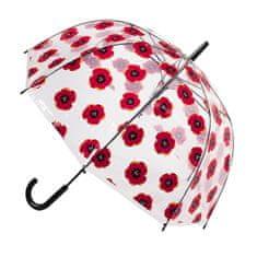Blooming Brollies Ženski prosojni dežnik POES PO