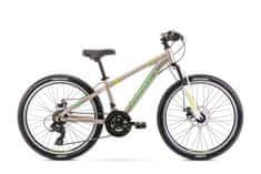 Romet Rambler Dirt 24 (2021) otroško kolo, sivo-zeleno