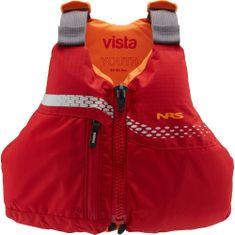 NRS Vista PFD rešilni jopič, otroški, rdeč