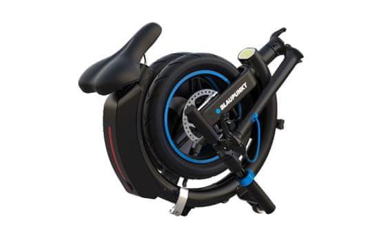 Blaupunkt ERL814 električni skiro, črn
