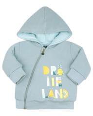 Nini jakna za dječake od organskog pamuka, ABN-2423, 56, plava
