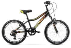 Romet Rambler 20 Kid 2 (2021) otroško kolo, črno-oranžno