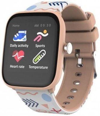 Vivax Smart watch LifeFit HERO kids, oranžové