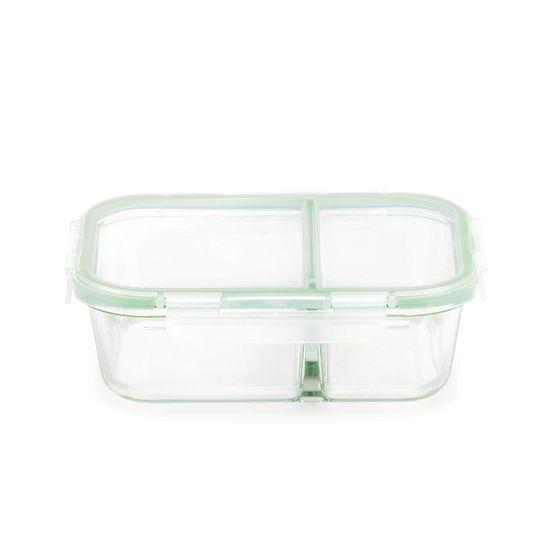Rosmarino Bake&Go steklena posoda s prekatom, pravokotna