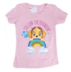 "SETINO Dekliška majica ""Tačke na patrulji - Skye"" - svetlo roza - 98 / 2–3 leta"